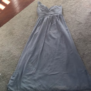 Alfred Angelo Gray Formal Bridesmaid/Mob Dress Size 4 (S)