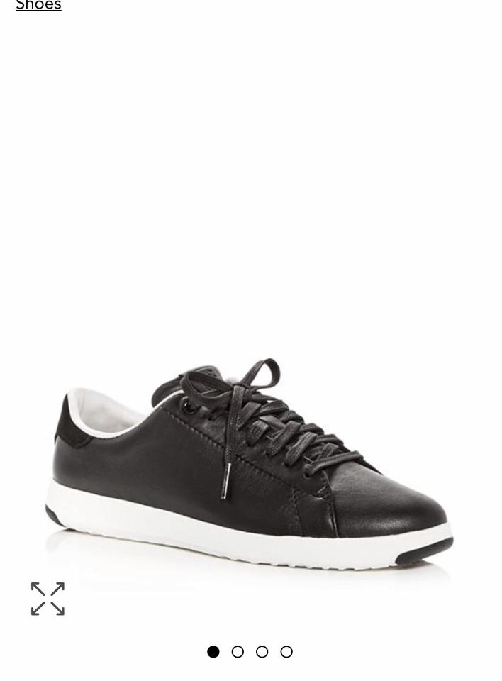 2f9cc269287 Cole Haan Black Women s Grandsport Leather Lace Up Sneakers Sneakers ...