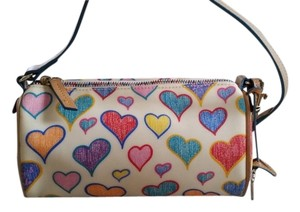 Dooney & Bourke Hearts Red Shoulder Bag
