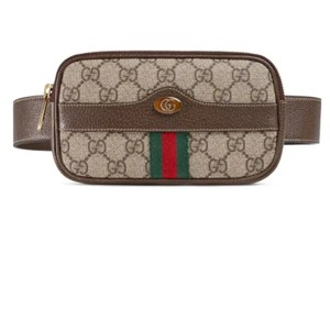 a80c12db745 Gucci Light Beige Ophidia Gg Supreme Canvas Bag Belt - Tradesy