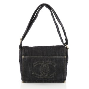 Chanel Denim blue Messenger Bag
