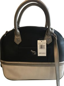 Emma Fox Satchel in Black multi ( black/ silver/ white )