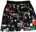 MILLY Mini Skirt Black multi