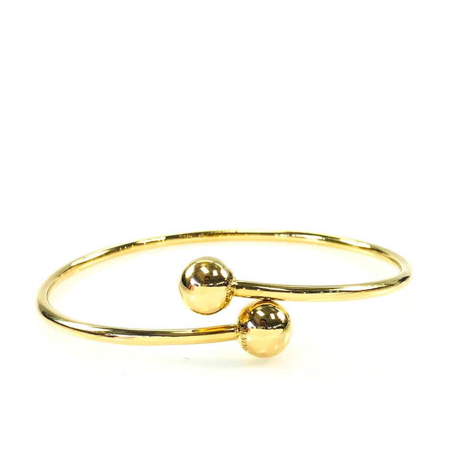 cb17f7db1 Tiffany & Co. HardWear Bypass Ball 18k Gold Bangle Bracelet Image 0 ...