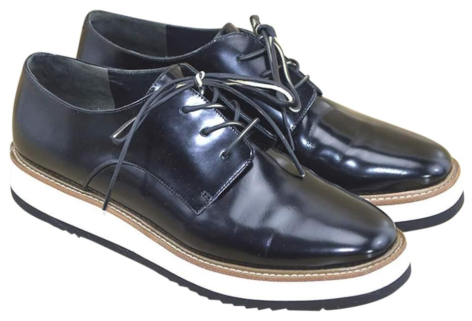 bf3578889a2 Vince Black  reed  Oxford Lace Up  131-4 Platforms Size EU 38 ...