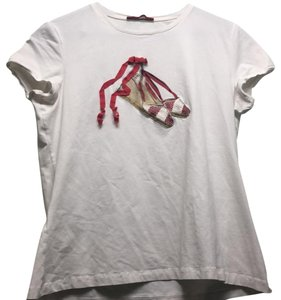 Carolina Herrera T Shirt White Red