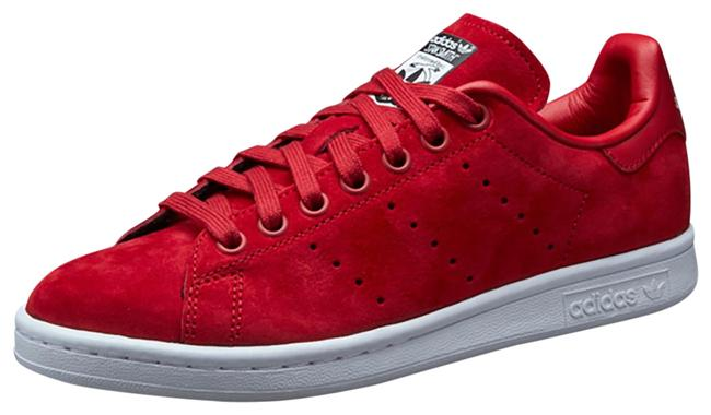Item - Red Stan Smith Sneakers Size US 7.5 Regular (M, B)