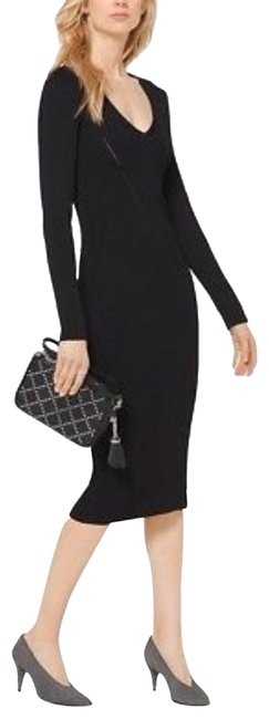 Preload https://img-static.tradesy.com/item/24231041/michael-kors-black-knit-long-casual-maxi-dress-size-12-l-0-1-650-650.jpg
