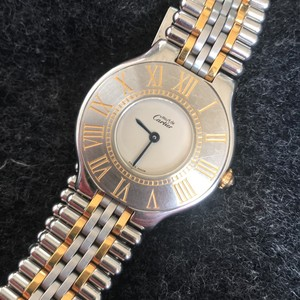 Cartier Cartier Ladies Must 21 Bullet 18k Yellow Gold and SS 28 mm Watch