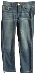 Generra Capri/Cropped Denim-Medium Wash
