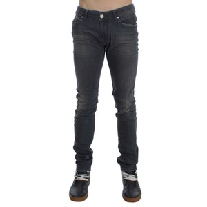 Gray D30457-1 Cotton Stretch Slim Fit Jeans (Waist 34) Groomsman Gift