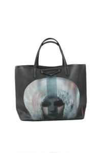 Givenchy Madonna Canvas Tote in Black
