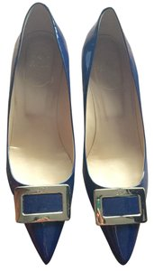 Roger Vivier Navy (LIKE NEW!) Size 8 Pumps
