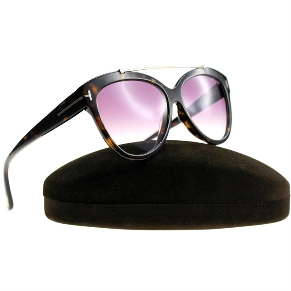 45be8d5c29 Tom Ford Cat Eye Style Women s TF 518 52Z Rose Gradient Lens Image 2. 123