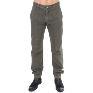 Gianfranco Ferre Green D11093-1 Cotton Straight Fit Chinos Pants (It 48 / M) Groomsman Gift