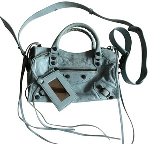 Balenciaga Satchel in light blue