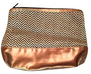 H&M Metallic Chevron Multi Clutch