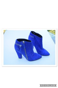 ALDO Royal Blue Ankle Boots/Booties