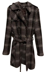 DKNY Vintage Wool Fall Winter Trench Coat