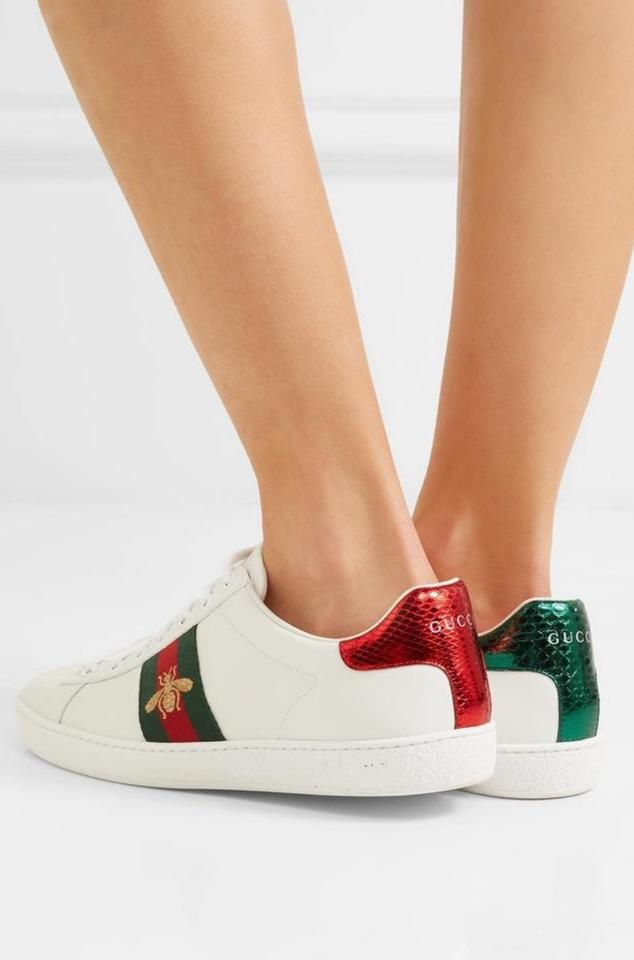 a4b984017a Gucci White Women's Ace Embroidered Sneakers Size US 5.5 Regular (M ...