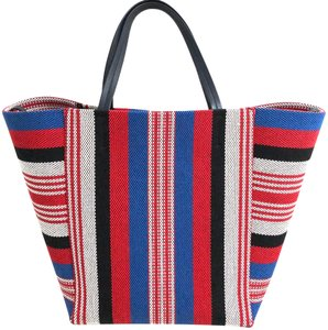 Céline Cabas Cabas Phantom Cabas Phantom Striped Cabas Tote in Multi