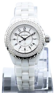Chanel Chanel J12 Diamond White Ceramic Ladies Watch