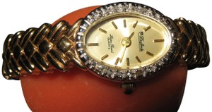 Lucien Piccard Retro Swiss Made Women's Lucien Piccard Diamond Watch 17 j Keeps Time