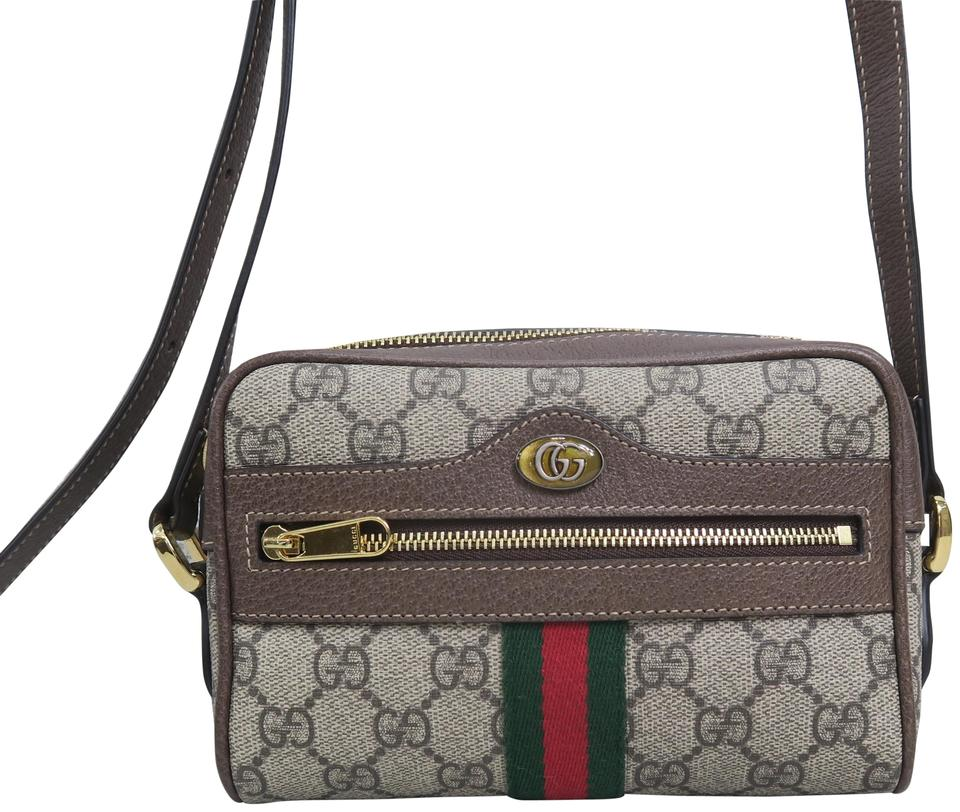 d0bf5c1ca849 Gucci Gg Satchel Brown Canvas Cross Body Bag - Tradesy