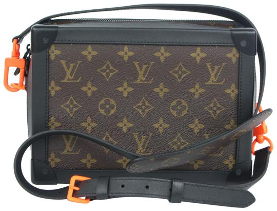 Preload https://img-static.tradesy.com/item/24235201/louis-vuitton-ultra-rare-runway-virgil-abloh-ss19-monogram-soft-trunk-5lz1023-brown-coated-canvas-cr-0-3-540-540.jpg