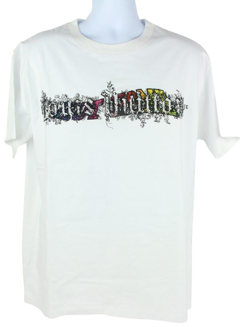 d99ae3e43814 Louis Vuitton Off-white Runway Limited Edition Supreme 2019 T Shirt White  Image 0 ...
