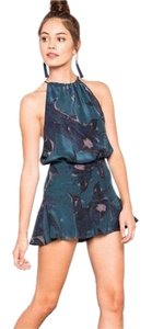Stone Cold Fox Silk Romeo Out Dress