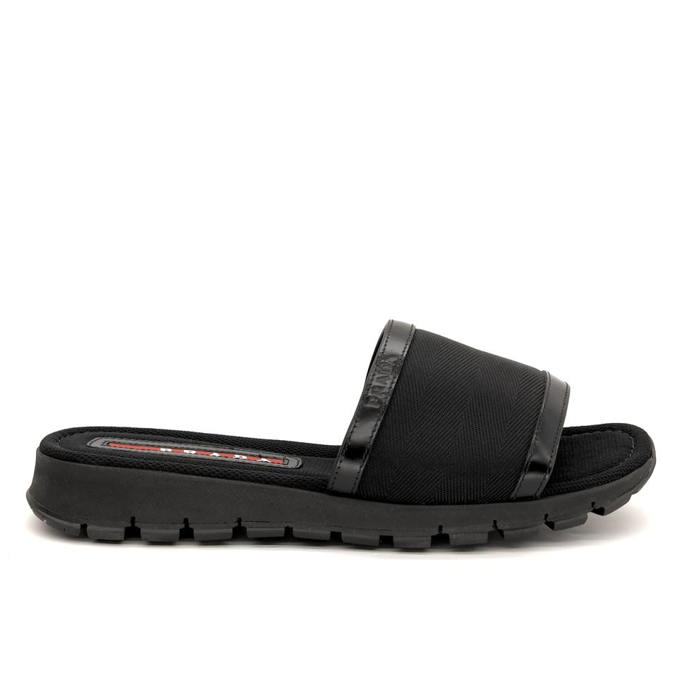 f9aedc6bc Prada Black Men's Slide Sandals Size US 8 Regular (M, B) - Tradesy