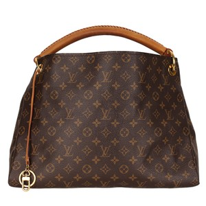 Louis Vuitton Artsy Mm Artsy Monogram Canvas Leather Hobo Bag