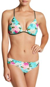 Betsey Johnson Aloha Molded Bikini Top RARE!!!