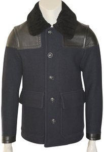 Burberry Mens Jacket Wool Mens Trench Coat