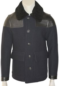 Burberry Mens Wool Mens Trench Coat