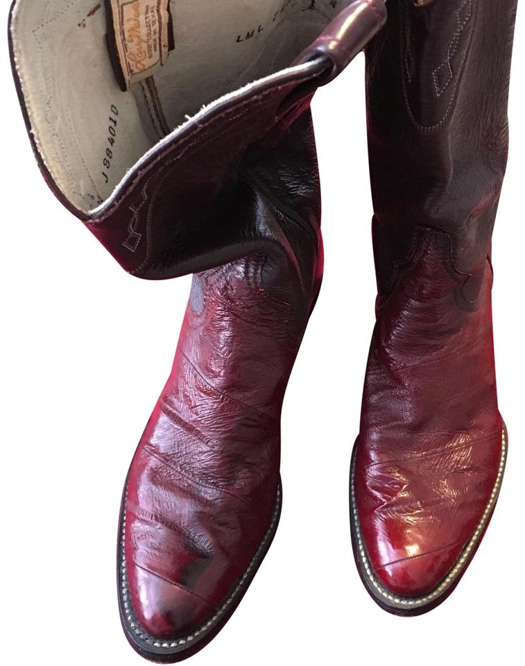 4e30784d619 Dark Red Boots/Booties