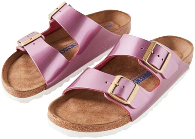 Item - Spectacular Rose Leather Sandals Size US 5 Narrow (Aa, N)
