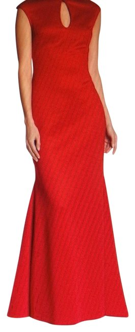 Preload https://img-static.tradesy.com/item/24236753/gracia-red-neoprene-long-formal-dress-size-16-xl-plus-0x-0-1-650-650.jpg