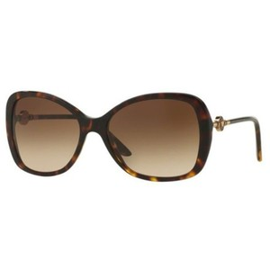 61df83821fac Versace Oversize Women s Ve4303a 108 13 Brown Gradient Lens Sunglasses
