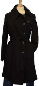 AllSaints Buttons Designer Trench Coat