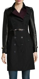 Burberry Winter Leather Trench Coat