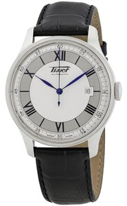Tissot Heritage Sovereign Automatic Silver Dial Men's Leather Watch