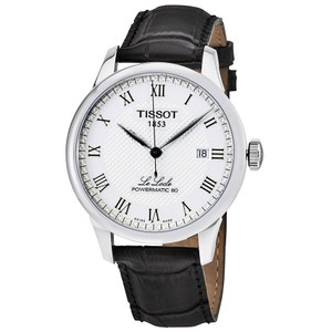 Tissot Le Locle Powermatic 80 Automatic Men's Leather Watch