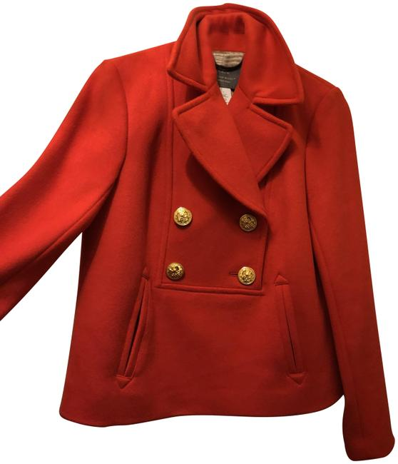 Item - Flaming Red Wool Coat Size 4 (S)