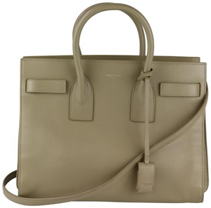 e1f9f06e800d Saint Laurent Sac De Jour Beige Bags - Up to 70% off at Tradesy