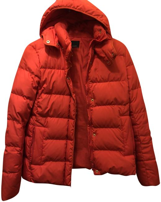 Item - Flaming Red Jacket Coat Size 4 (S)