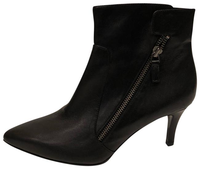 Alberto Zago Black New Pointy Toe Leather Ankle Boots/Booties Size EU 37.5 (Approx. US 7.5) Regular (M, B) Alberto Zago Black New Pointy Toe Leather Ankle Boots/Booties Size EU 37.5 (Approx. US 7.5) Regular (M, B) Image 1