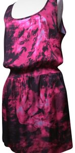Plastic Island short dress Pink Tye-dye on Tradesy