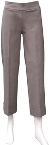 Avenue Montaigne Capri/Cropped Pants Taupe